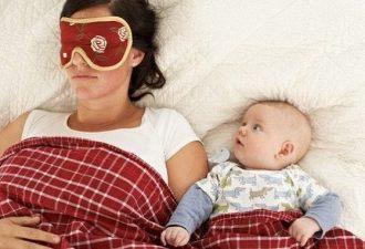 Мама спит с ребенком